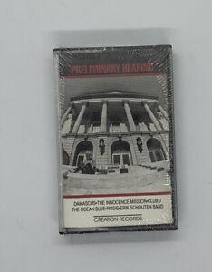 PRELIMINARY HEARING 1986 cassette SAMPLER Innocence Mission OCEAN BLUE