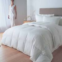 LUXURIOUS WHITE DUCK 85% FEATHER & 15% DOWN DUVET QUILT