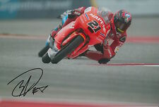 Francesco Bagnaia Hand Signed 12x8 Photo Mapfre Mahindra Moto3 2015 MotoGP.