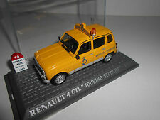 RENAULT 4 GTL TOURING SECOURS MITICO 4 L 1976 UH METROPOLE  1/43