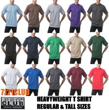 LOT 3 PACK PRO CLUB T SHIRT PROCLUB MEN HEAVYWEIGHT PLAIN TEE BIG AND TALL S-7XL
