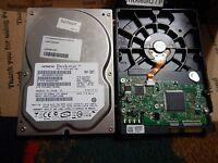 """Hitachi DeskStar 80 GB, 7200 RPM SATA, 3.5"""" (0A33931) Hard Drive 80GB 404024-001"""