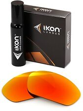 Polarized IKON Iridium Replacement Lenses For Oakley Juliet Fire Orange Mirror
