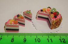 1:12 SCALA tondo torta al cioccolato da PANETTERIA in Miniatura Casa Delle Bambole Accessorio NC81