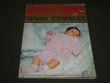 1963 MAY 4 JOURS DE FRANCE FARAH COMBLEE FRENCH MAGAZINE - ST 5154