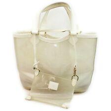 Louis Vuitton Tote Bag M92261 Mini Laggon Bay Whites Vinyl 1404406