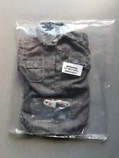 1:6 Scale WW2 German Tank Commander Grey Shirt and Shoulderboards