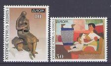 CYPRUS, (GR), EUROPA CEPT 1993, CONTEMPORARY ART, MNH