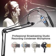 Professional Broadcasting Studio Recording Condenser Microphone Mic Kit Q1T9