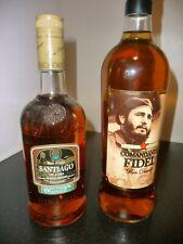 SANTIAGO DE CUBA RON ANEJO 70 CL + Ron Comandante FIDEL