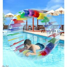 Pool Toys For Kids Colorful Inflatable Water Wheel Roller Float Accessories New