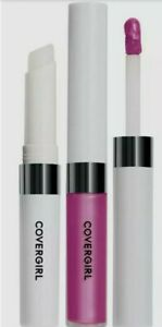 2X CoverGirl Outlast 740 MOONLIGHT MAUVE All Day Moisturizing Lip Color Top Coat