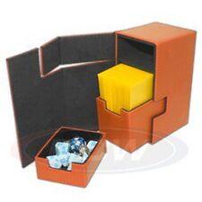 1 BCW ORANGE LX Deck Locker MTG CCG Pokemon Premium Storage Box
