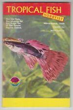 [75050] Tropical Fish Hobbyist Magazine November 1966 Vol. 15, No. 3 - 82 Pages
