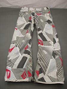 Volcom Size M Womens Gray Thermonite Insulated Waterproof 8000MM Snow Pants T297