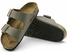 BIRKENSTOCK Schuhe ARIZONA 0151211 Stone Damen Leder Birko Flor normale Weite