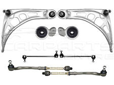 FOR BMW E46 FRONT SUSPENSION ARMS WISHBONE BUSHES LINKS TRACK ROD ENDS DROP LINK