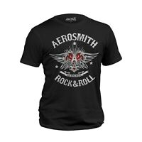 Aerosmith Rock & Roll Official  Men T-shirt