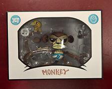 "Joe Ledbetter Underwear Monkey Good Morning Sunshine Coffee 8"" vinyl figure"