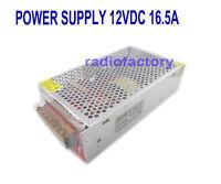 S-200-12 Super Stable 12V 13.8V Regulated Radio Power Supply 10.5 - 13.8V 16.5 A