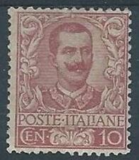 1901 REGNO FLOREALE 10 CENT MH *  - RR2828-2