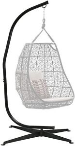Hammock C Stand Solid Steel Construction For Hanging Air Porch Swing Chair CC79