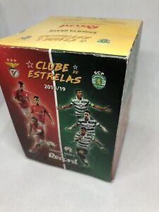 Portuguese Stars Club Sporting and Benfica ( Joao Felix) Box :50 packs 2018-2019