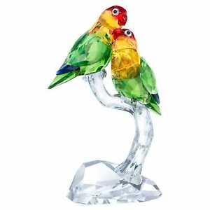 """SWAROVSKI CRYSTAL PARADISE AMAZING  """"LOVEBIRDS""""  5379552  BRAND NEW FREE POST"""