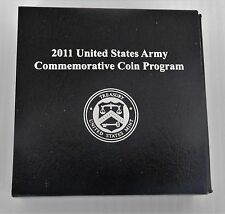 2011 US Army Commemorative Proof Silver Dollar, COA, Mint Packaging, ARM3