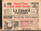 CANARD ENCHAINÉ Birthday Newspaper JOURNAL NAISSANCE 8 AVRIL APRIL 1987