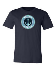 Seattle Kraken Anchor Circle Logo T-shirt 6 Sizes S-5XL!!!