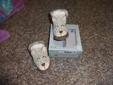 ROBEEZ 0-6 3D SNOW LEAOPARD SHOES