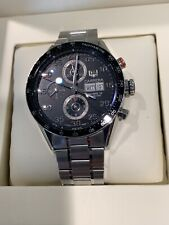TAG Heuer Carrera Chronograph Calibre 16 Day/ Date 43mm Steel Men's Watch CV2A10