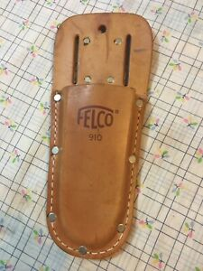 felco leather holster in good used condition