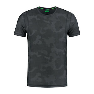 Korda Clothing Range LE Kamo Camo Pro Tee T-shirt Charcoal *ALL SIZES* NEW Carp