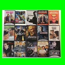 LOT of 15 DVDs Newer Titles Popular & Indie Movies good condition used dvds 108
