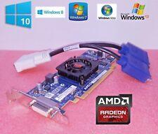 HP EliteDesk SFF 705, 800 (G1, G2, G3) Dual Monitor Display VGA Video Card