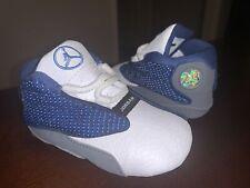NWOB Baby/Infant Jordan 13 Retro Soft Bottom Crib Shoes 'Flint' - Size 3C