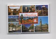 Magnet HAMBURG 8 Motive Kühlschrankmagnet Pinnwand Souvenir NEU NT164