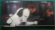 """Star Wars Topps 1996 3Di Widevision Card #34 """"Han Solo's Bluff!"""""""