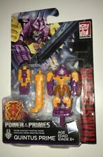 Transformers Power of Primes QUINTUS PRIME Master Series with Bludgeon Armor