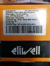 1 PC Eliwell Plus 902-115 Temperature Controller In Box. Nos