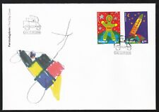 Norway 2000 Fdc Stampin The Future - Art Theme