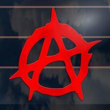 Anarchy Symbol Car Sticker 100mm