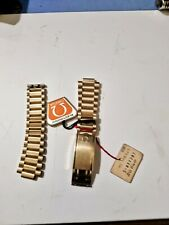 BRAND NEW Omega Seamaster Gold Plated 20 Micron Watch band 1175 n.w.t n.o.s