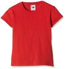 T-shirts, hauts et chemises rouges pour fille de 9 à 10 ans