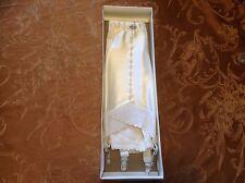 New in box 1 white Rengo Crown ette 424 open bottom girdle w/ garters sz 26