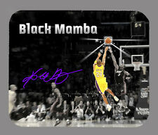 Item#3296 Kobe Bryant LA Lakers Mamba Facsimile Autographed Mouse Pad