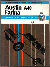 Austin A40 Farina Persons Illustrated Car Servicing Guide for Owner Drivers