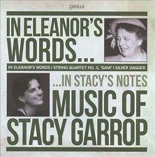 Garrop: In Eleanor's Words: Music of Stacy Garrop, New Music